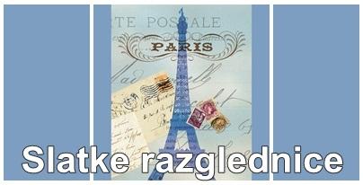 Slatke razglednice iz Pariza